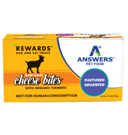 Answers Answers Raw Goat Cheese Turmeric Treat 8oz