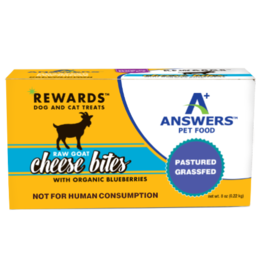 Answers Answers Raw Goat Cheese Blueberry Treat