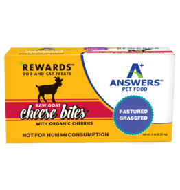 Answers Answers Raw Goat Cheese Treat Cherry 8oz