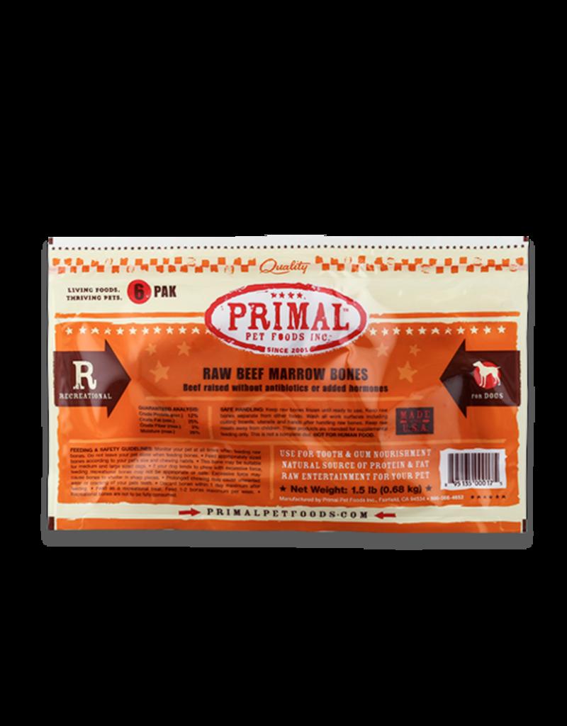 Primal Primal Beef Bones 6 Pack
