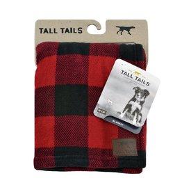 Tall Tails Tall Tails Hunters Plaid Blanket 30x40