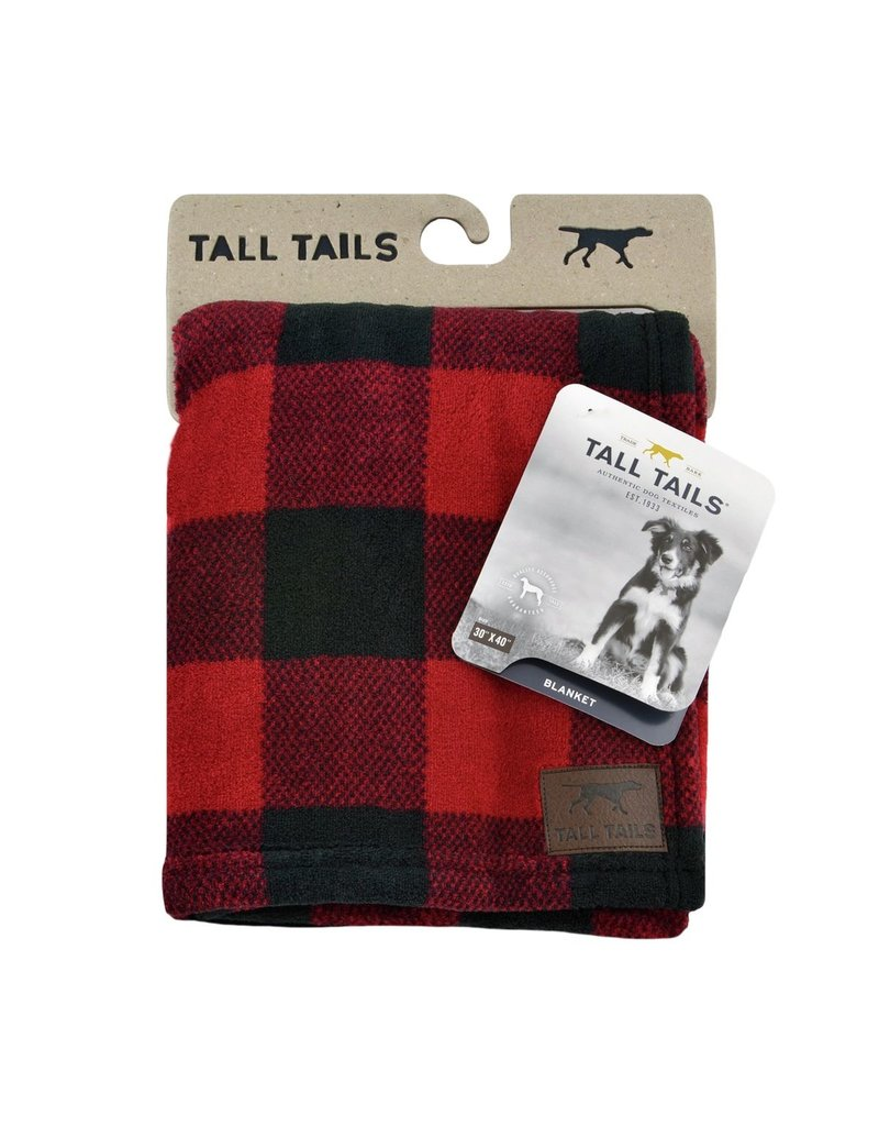 Tall Tails Tall Tails Hunters Plaid Blanket 30x40
