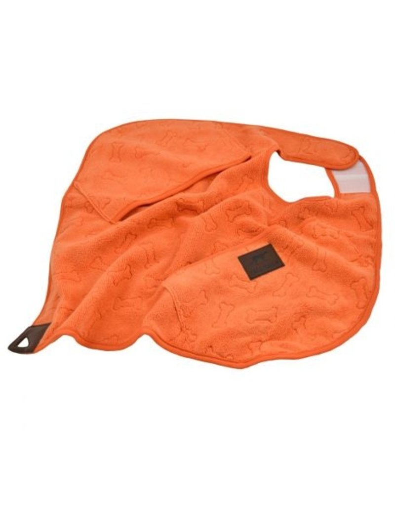 Tall Tails Tall Tails Cape Towel Orange Bone