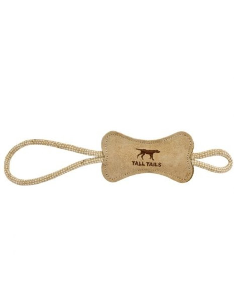 Tall Tails Tall Tails Leather Tug Bone 12""
