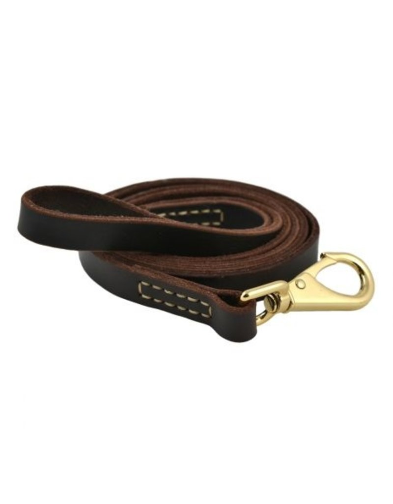 Tall Tails Tall Tails Leather Leash Large 7.5'