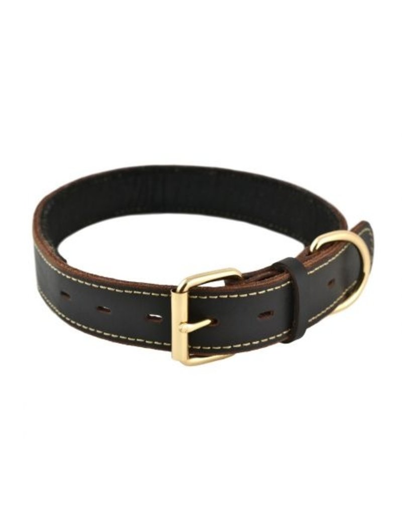 Tall Tails Tall Tails Leather Collar Large