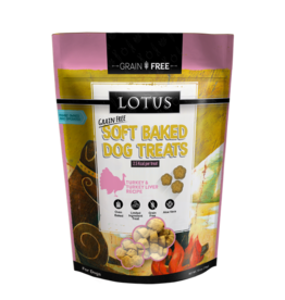 Lotus Lotus Soft Baked Turkey Liver Treats