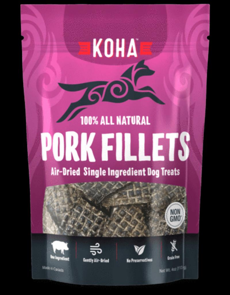 Koha Koha Pork Fillets 4.0 oz