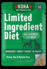 Koha Koha LID Shredded Turkey Cat 2.8oz
