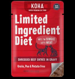 Koha Koha LID Shredded Beef Cat 2.8oz