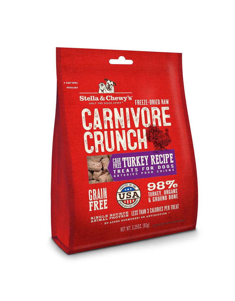 Stella & Chewys Stella & Chewys Carnivore Crunch Turkey 3.25oz