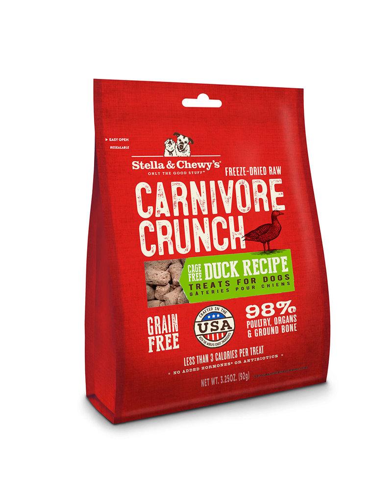 Stella & Chewys Stella & Chewys Carnivore Crunch Duck 3.25oz