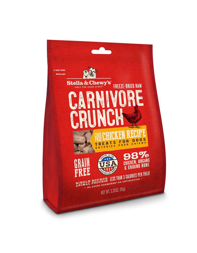 Stella & Chewys Stella & Chewys Carnivore Crunch Chicken 3.25oz