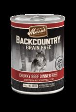 Merrick Merrick Backcountry Chunky Beef 12.7oz
