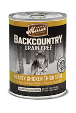 Merrick Merrick Backcountry Chicken Thigh Stew 12.7oz