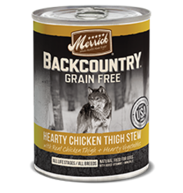 Merrick Merrick Backcountry Chicken Thigh Stew 12.7oz