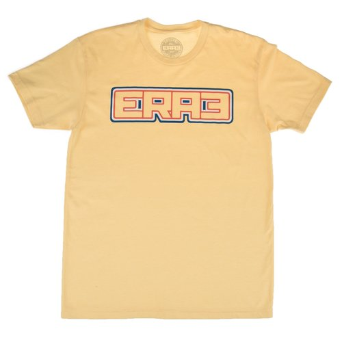 RWB OUTLINE T-SHIRT - YELLOW