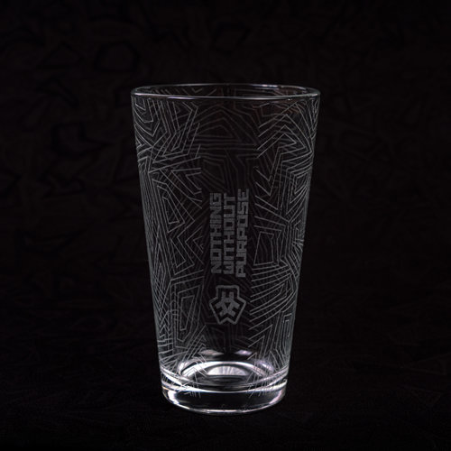 E3D PINT GLASS