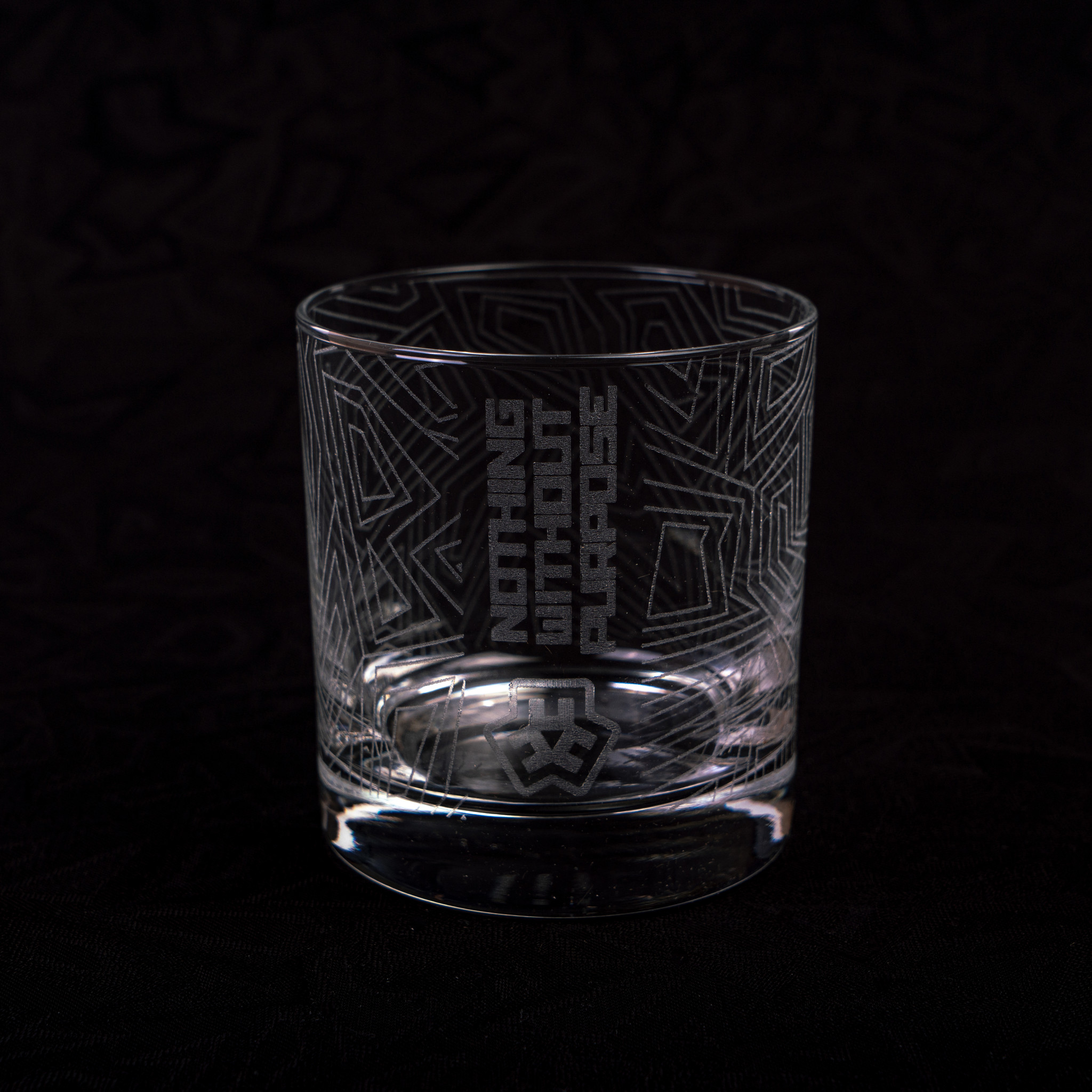 E3d Etched Linework Rocks Glass Era3