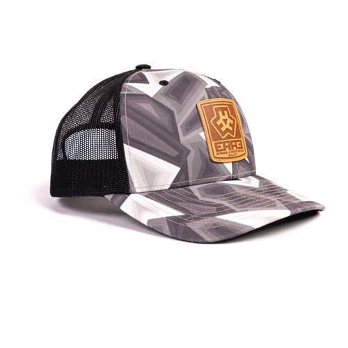 MAVERICK HAT E3D - GREYSCALE CURVED