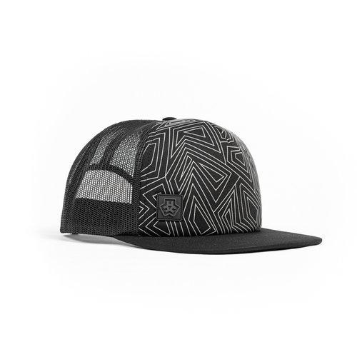 E3D LINE HAT - BLACK