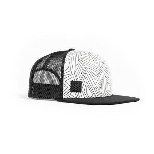 E3D LINE HAT - WHITE