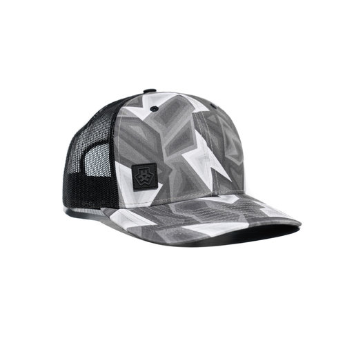 TRIPLE E HAT E3D - GREYSCALE CURVED