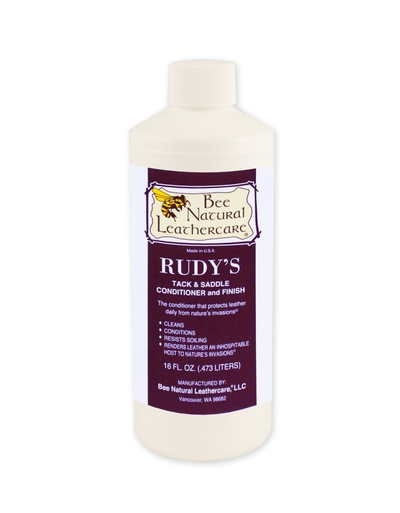 Bee Natural Leathercare Rudy's Tack & Saddle Cond & Finish