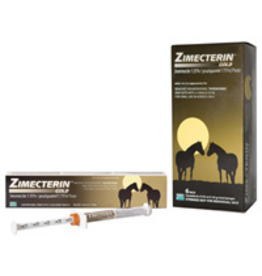 RJ Matthews Zimecterin Gold Paste Dewormer