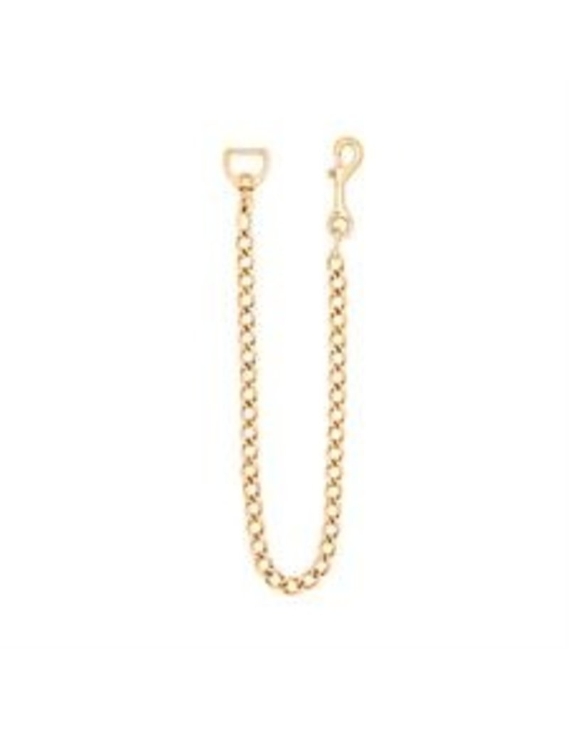 """Weaver Lead Chain Brass Plated 30"""""""
