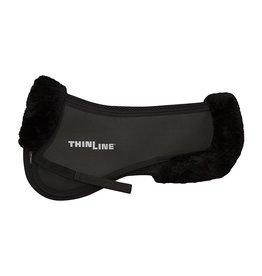 ThinLine LLC Med Trifecta Cotton Half Pad with Sheepskin