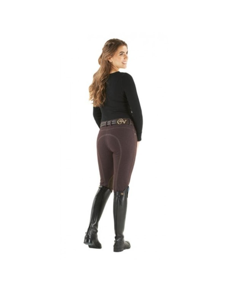 Ovation Euro Jean with Zip Front Knee Patch