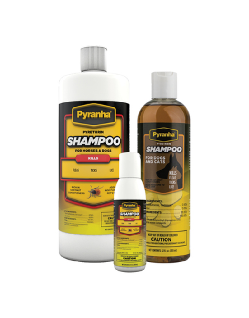 Pyranha Pyrethrin Shampoo 12oz