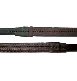 Nunn Finer Pony Rubber Reins w/ Hook End