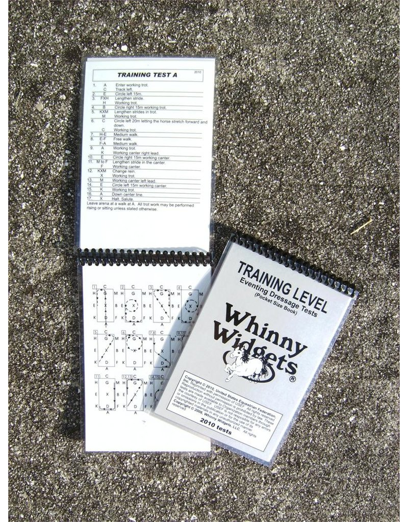 Whinney Widgets Training Level Dressage Test Book