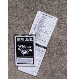 Whinney Widgets Third Level Dressage Test Book
