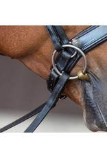 "Fairfax 21"" (53.5cm) Bridle Jowl Strap Black"