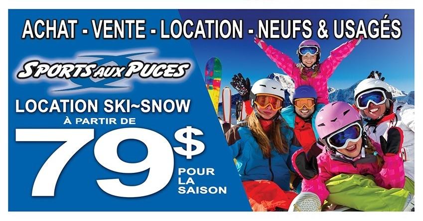 Location ski saison a partir de 79,99$