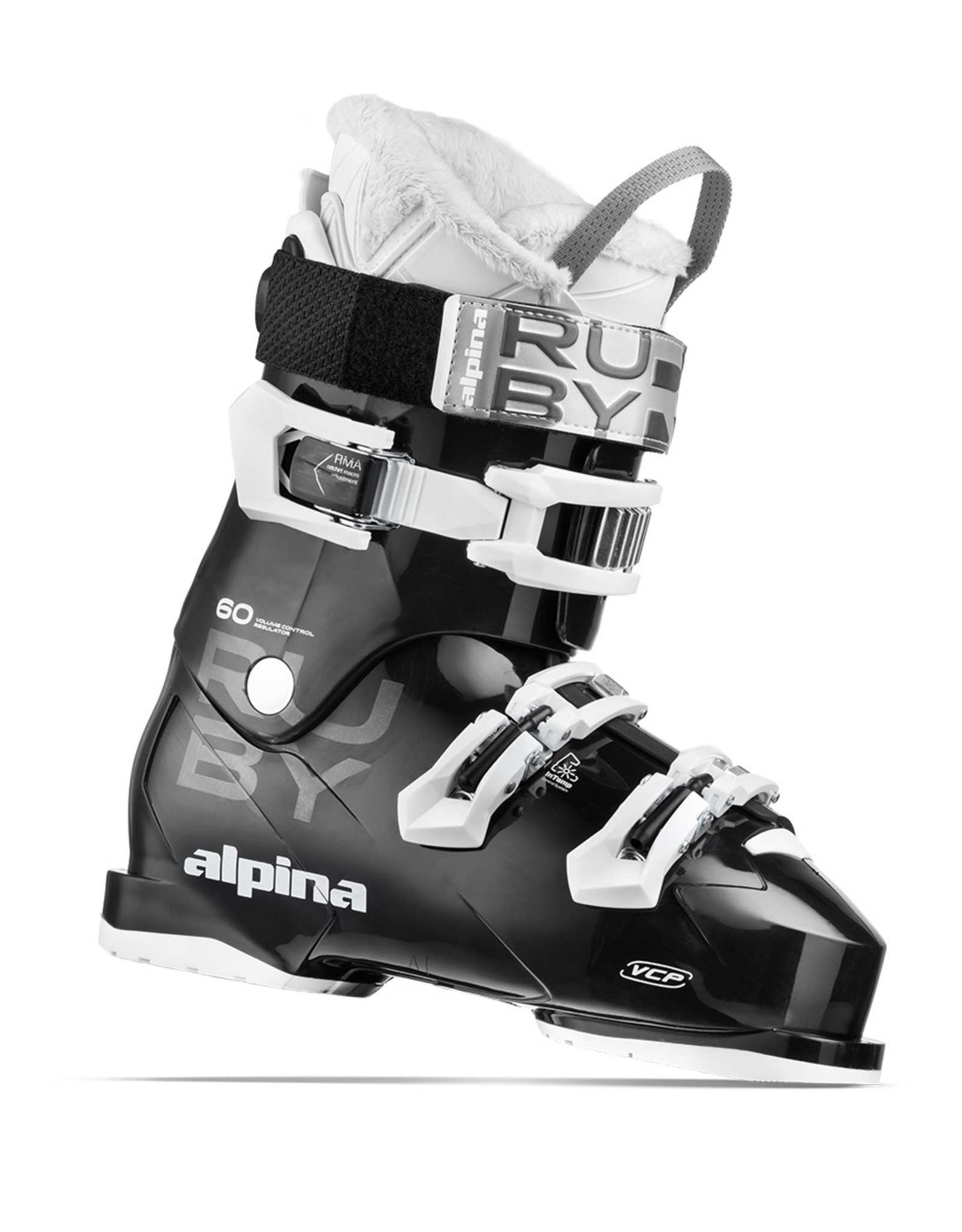 Elan Bottes Ski Alpin Alpina Ruby 60 Black