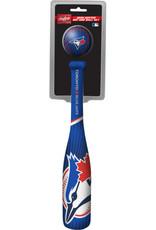 Rawlings Mini  Bâton Baseball Foam Avec Balle Rawlings Blue Jays