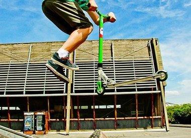 Trotinette/Skateboard