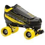 Roller Derby Patins à Roues Quad Sting Noir/Jaune 8