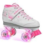 Roller Derby Patins à Roues Quad Sparkles Blanc/Rose 3