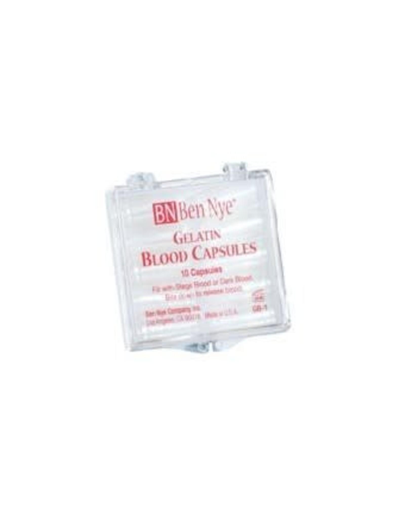 Ben Nye Gelatin Blood Capsules
