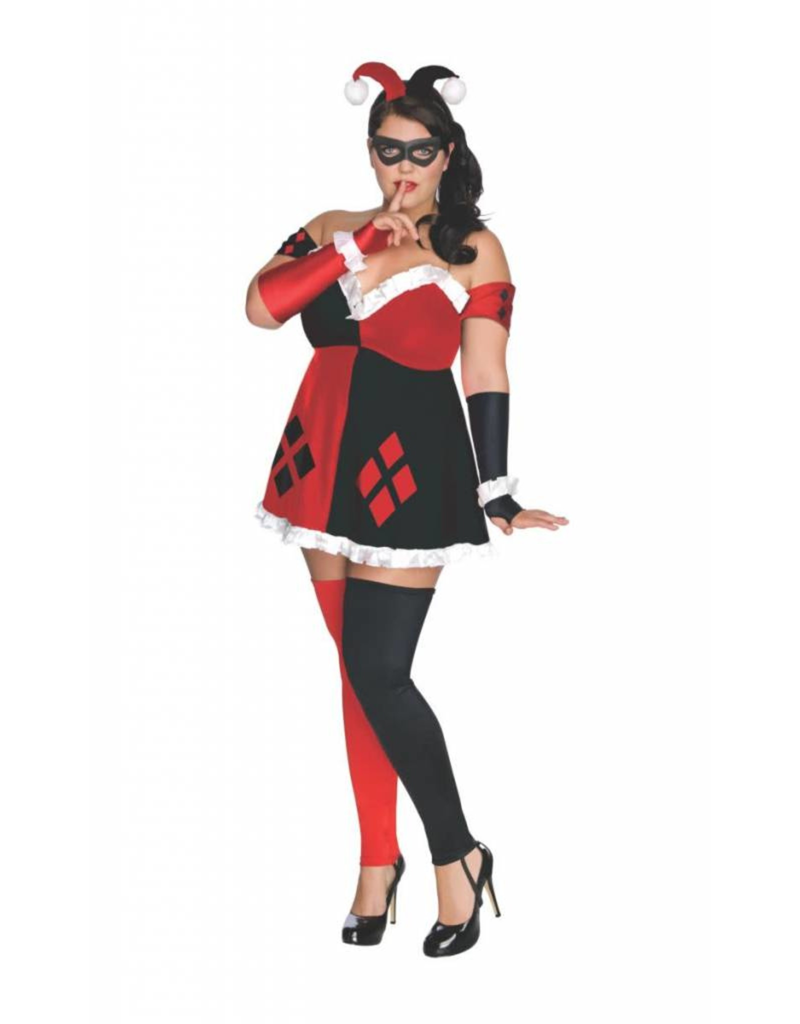 Rubies Costume Harley Quinn - Gotham City Most Wanted