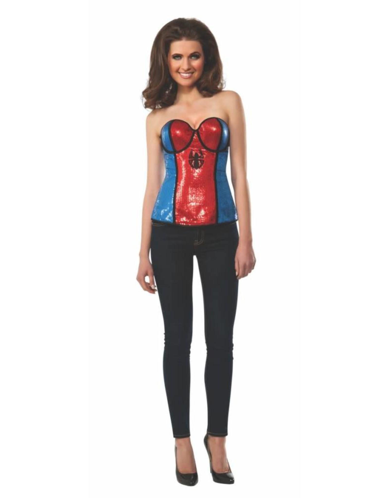 Rubies Costume Spider-Girl Sequin Corset
