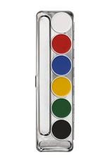 Kryolan Kryolan Aquacolor Palette - 6 Color
