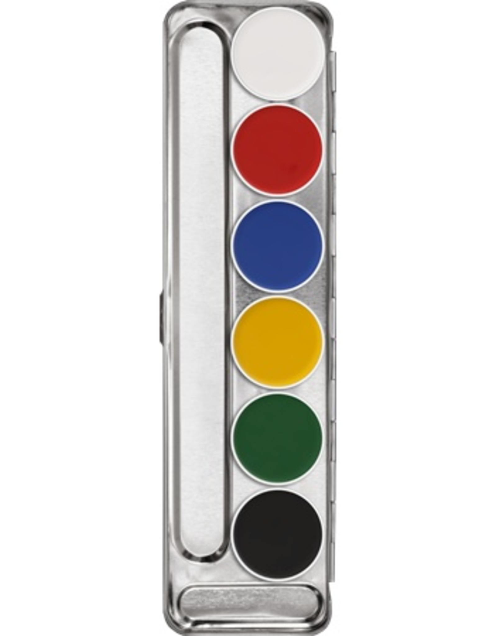 Kryolan Kryolan Aquacolor Palette - 6 Color A