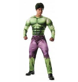 Rubies Costume Hulk w/Muscle Chest
