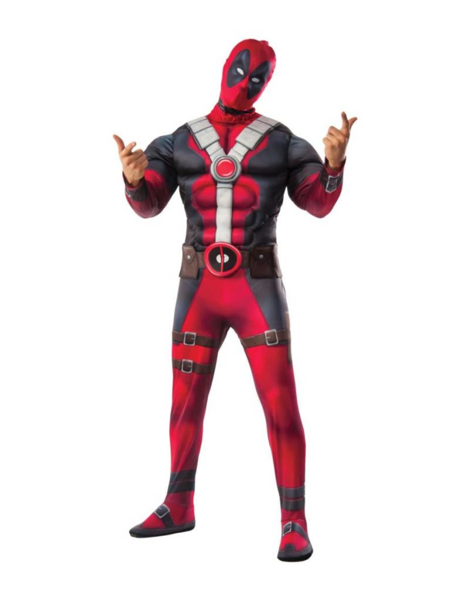 Rubies Costume Deadpool w/Muscle Chest